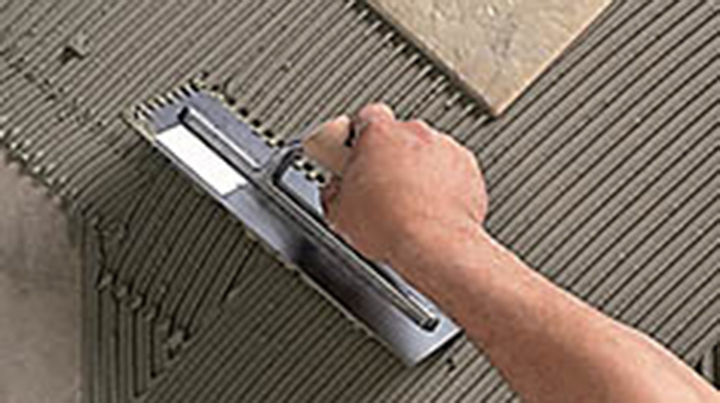 TILE ADHESIVE AND GROUT – Contemporary Ceramics